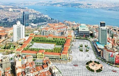 Taksim Topçu Kışlası'na, Danıştay'dan vize!
