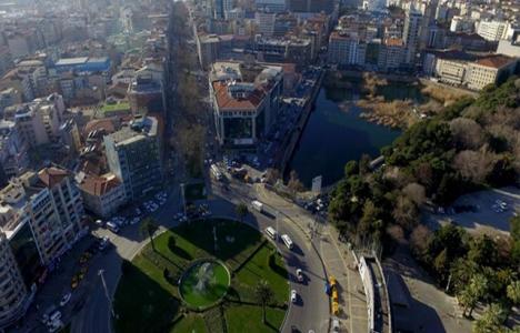 Basmane Çukuru'ndaki inşaat