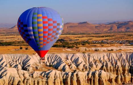 Kapadokya'daki oteller bayramda