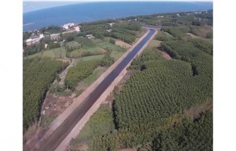 Bafra Ovası Sulama projesi inşaatı sürüyor!