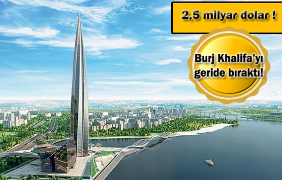Dünyanın en pahalı gökdeleni Lahta Center Türklerin eseri!