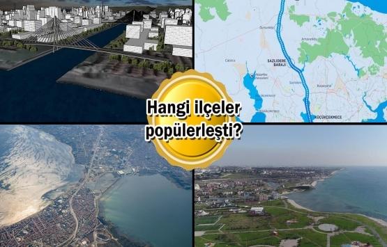 Kanal İstanbul güzergahında arazi fiyatları fırladı!