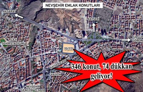 Nevşehir Emlak Konutları inşaat ihalesi 5 Mayıs'ta!