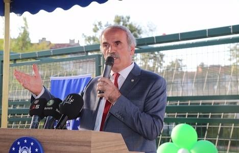 Bursa Ayyıldız Spor Tesisleri açıldı!
