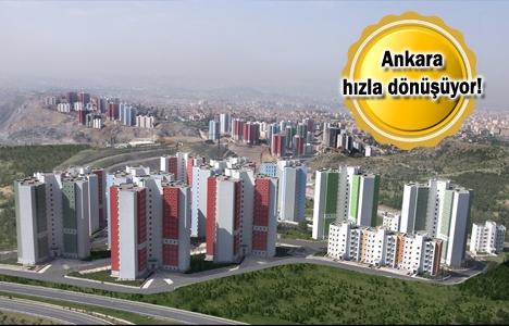 TOKİ'nin Ankara'da devam eden 10 kentsel dönüşüm projesi!