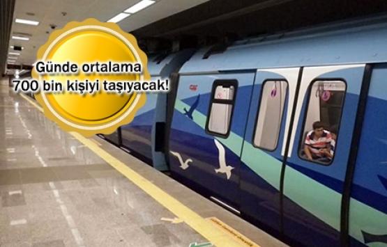 Üsküdar-Ümraniye-Çekmeköy Hattı'nın test seferleri sürüyor!