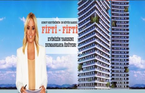 Dumankaya'da 'Fifti- Fifti'