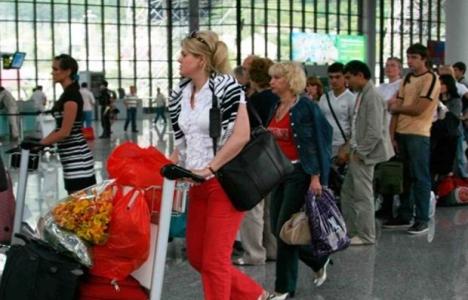 Türkiye'ye gelen yabancı sayısı yüzde 1.21 azaldı!