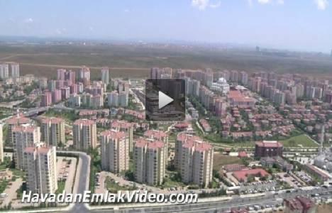 Başakşehir 5.Etap Ortaköy Sitesi havadan videosu