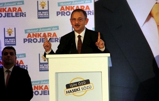 Mehmet Özhaseki'nin Ankara