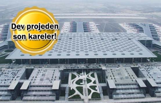 İstanbul Havalimanı havadan