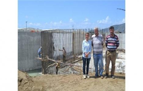 Anamur Atık Su Arıtma Tesisi'nin inşaatı tamamlanıyor!