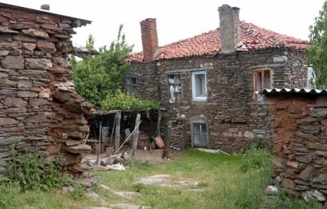 Taş evler beton