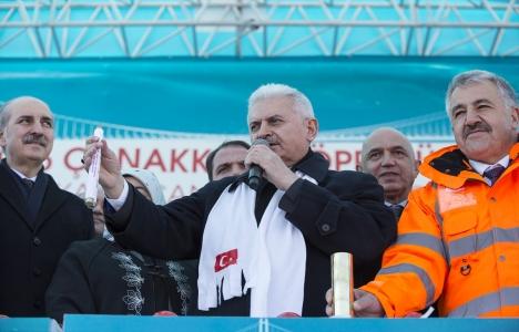 Başbakan Yıldırım: Çanakkale'ye