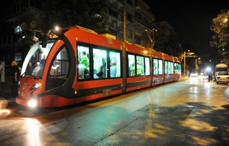 Bursaray projesinde tramvaylar