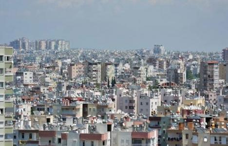 Konut fiyatlarında en ciddi düşüş Antalya'da!
