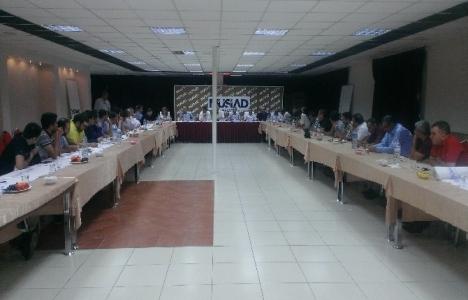 MÜSİAD Malatya Şubesi İnşaat Sektör Kurulu toplantısı yapıldı!