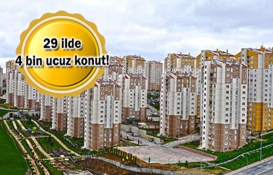 1000 TL'den az taksitli TOKİ projeleri!