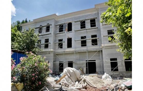 Ayvansaray Kasım Günani Semt Konağı'nın inşaatı tam gaz!