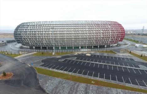 Gaziantep Arena yarın açılacak!