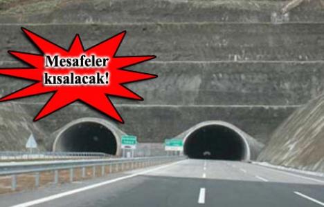 Karadeniz iki tünelle