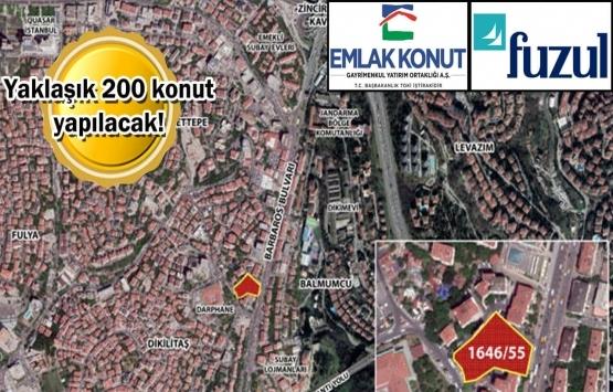 Emlak Konut GYO ve Fuzul Yapı'dan Dikilitaş'a 461 milyon TL'lik proje!