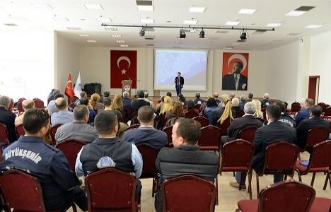 Mersin Büyükşehir'den imar hukuku eğitimi!