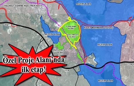 Başakşehir'de 557 hektarlık özel proje alanının imar planı askıya çıktı!