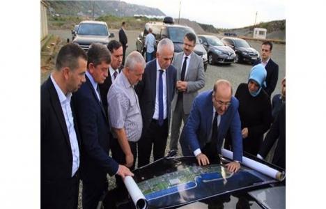 Trabzon'un yatırım projelerinde