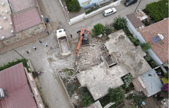 Nazilli'de metruk binalar ortadan kaldırılıyor!