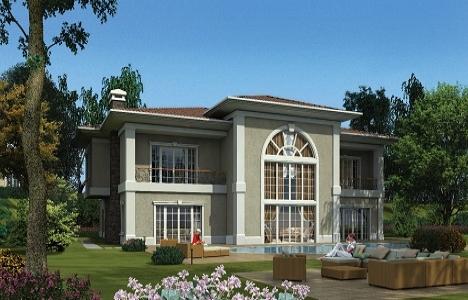 Batı Mahal'de villa fiyatları 890 bin dolardan başlıyor!
