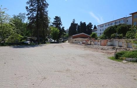 Şile'de otopark alanları