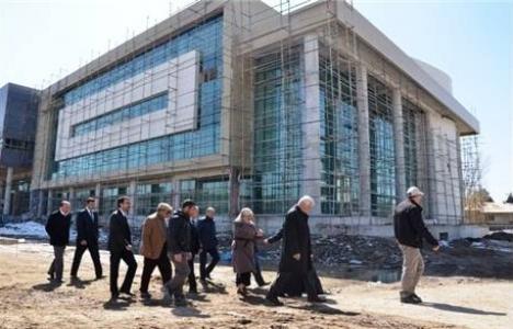 Erciş Belediyesi'nin yeni binası Haziran'da teslim dilecek!