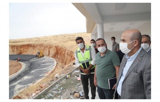 Mahmut Demirtaş Mardin'deki inşaat çalışmalarını inceledi!