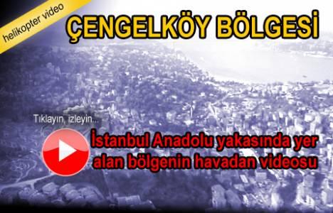 Çengelköy bölgesinin havadan