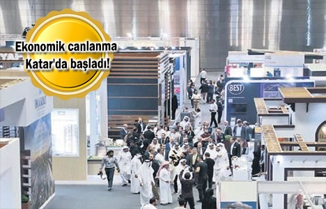 Türk inşaatçılar Katar'da gövde gösterisi yaptı!