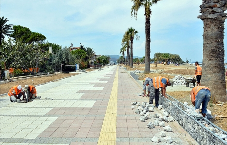 Urla Kum Denizi projesi 6.5 milyon TL'ye mal olacak!