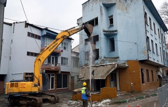 Bursa'da riskli yapılar ortadan kaldırılıyor!