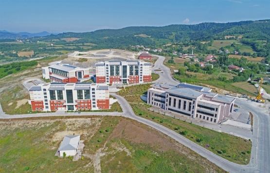 Bartın Üniversitesi rektörlük binasının inşaatı hızlandı!