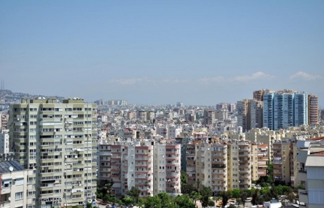 Antalya'da konut satışları