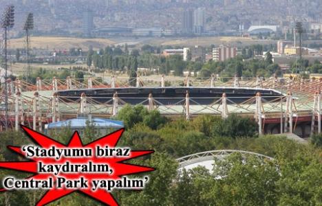 Ankara'nın yeni stadı için ilk proje Salih Bezci'den!