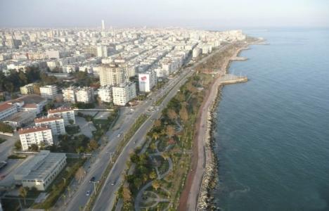 Mersin'de 10 milyon