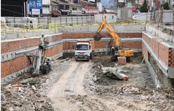 Samsun Subaşı Meydan Projesi'nin yüzde 25'i tamamlandı!