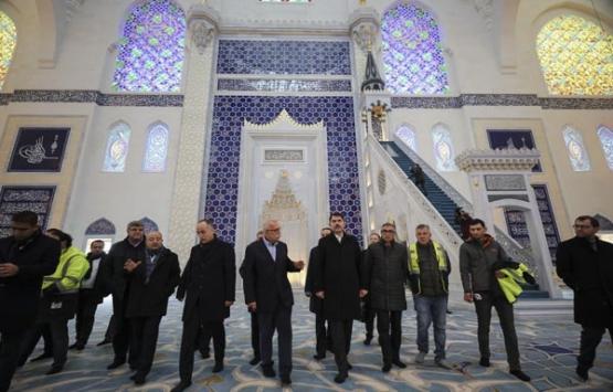 Çamlıca Camisi'nde açılış