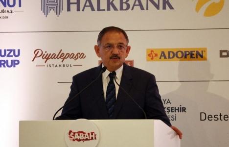 Mehmet Özhaseki: Balçık alanlar üzerine şehirler kurmuşuz!