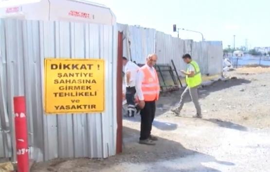 Mecidiyeköy-Mahmutbey Metrosu inşaatında kaza!