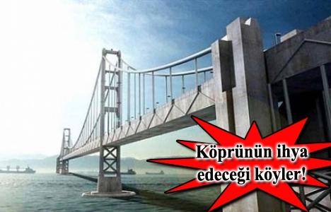 Çanakkale Boğaz Köprüsü'nün güzergahı netleşti!