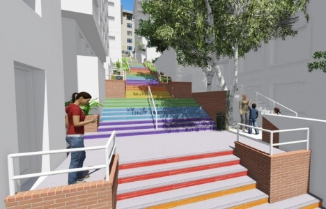 Cihangir'in merdivenleri