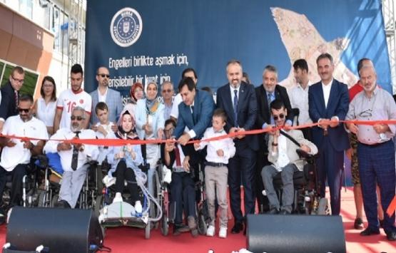 Bursa Engelsiz Yaşam Merkezi açıldı!