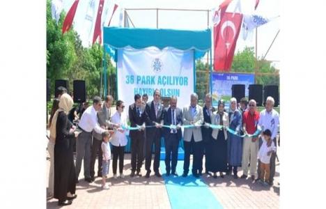 Konya Selçuklu 36 park toplu açılış